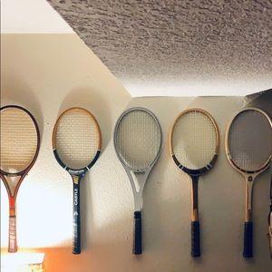 Rare Vintage Tennis Rackets